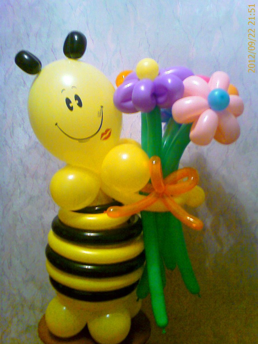 """Фигуры из воздушных шаров - фото 548076 Студия оформления праздника """"Ананас"""""""