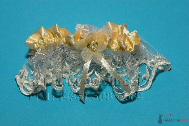 Фото 45335 в коллекции Подвязки свадебные