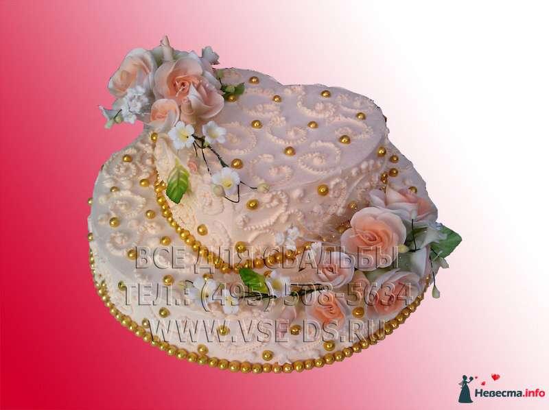 """Фото 81867 в коллекции Свадебные торты - """"Все для свадьбы"""" - салон аксессуаров и услуг"""