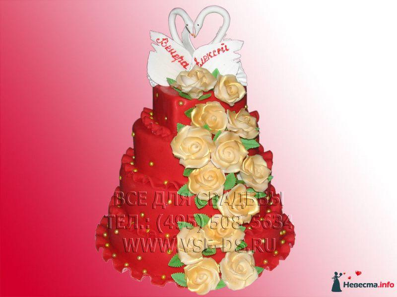 """Фото 81875 в коллекции Свадебные торты - """"Все для свадьбы"""" - салон аксессуаров и услуг"""