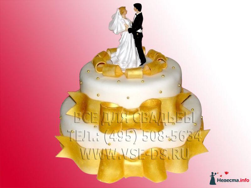 """Фото 87240 в коллекции Свадебные торты - """"Все для свадьбы"""" - салон аксессуаров и услуг"""