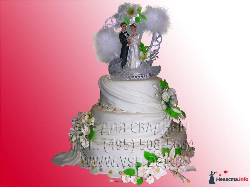 """Фото 99302 в коллекции Свадебные торты - """"Все для свадьбы"""" - салон аксессуаров и услуг"""