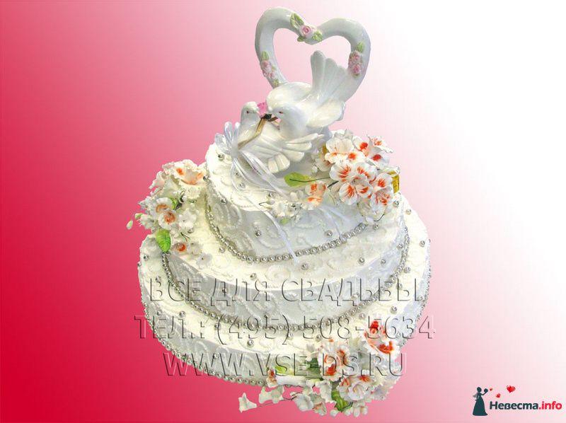 """Фото 99339 в коллекции Свадебные торты - """"Все для свадьбы"""" - салон аксессуаров и услуг"""