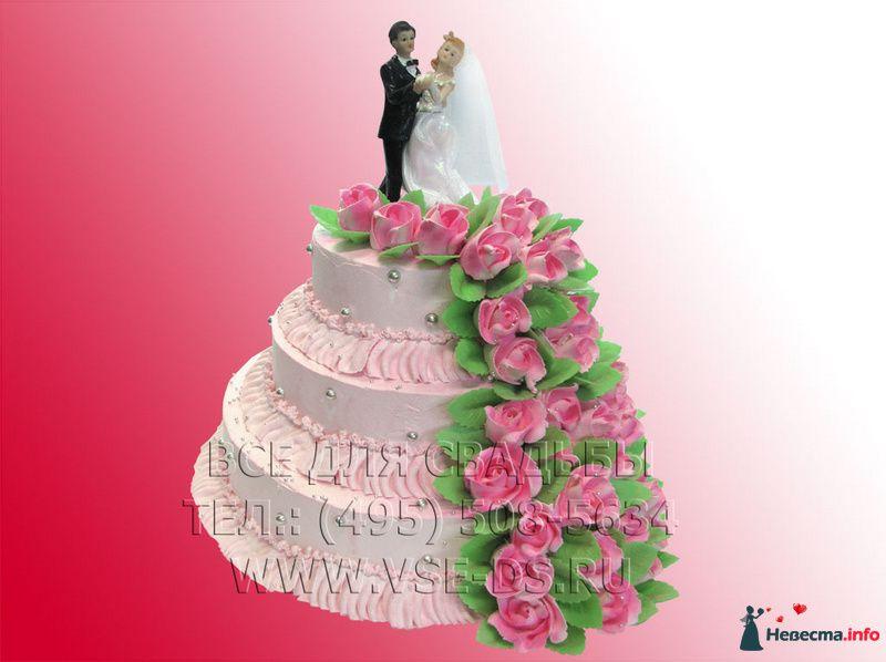 """Фото 99342 в коллекции Свадебные торты - """"Все для свадьбы"""" - салон аксессуаров и услуг"""