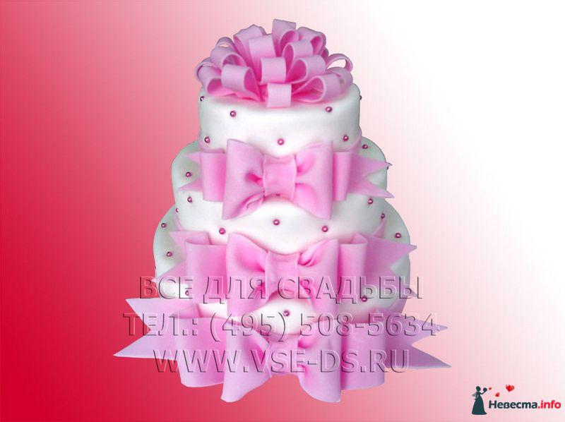 """Фото 99347 в коллекции Свадебные торты - """"Все для свадьбы"""" - салон аксессуаров и услуг"""