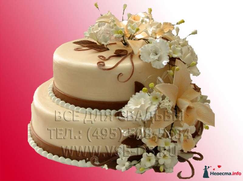 """Фото 99349 в коллекции Свадебные торты - """"Все для свадьбы"""" - салон аксессуаров и услуг"""