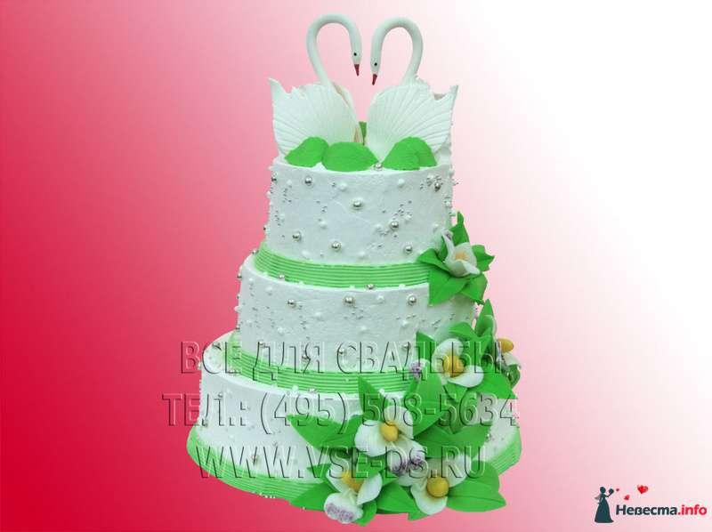 """Фото 99351 в коллекции Свадебные торты - """"Все для свадьбы"""" - салон аксессуаров и услуг"""