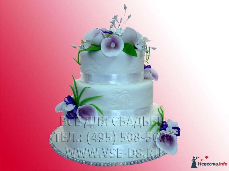 """Фото 99353 в коллекции Свадебные торты - """"Все для свадьбы"""" - салон аксессуаров и услуг"""