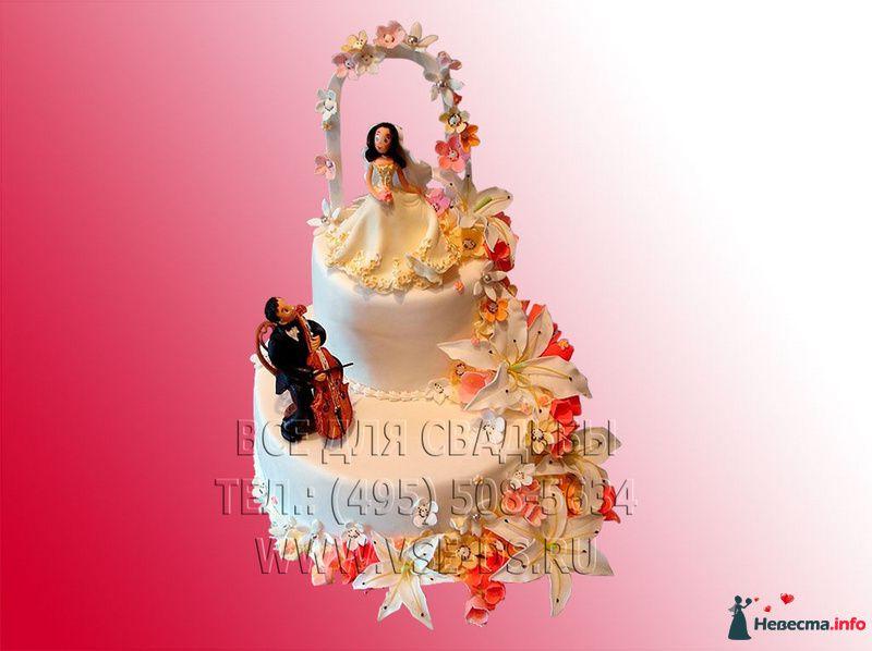 """Фото 99354 в коллекции Свадебные торты - """"Все для свадьбы"""" - салон аксессуаров и услуг"""