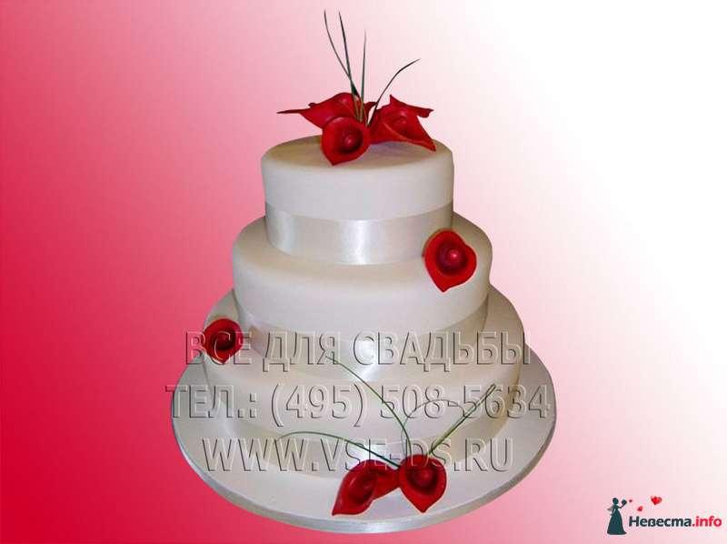 """Фото 99355 в коллекции Свадебные торты - """"Все для свадьбы"""" - салон аксессуаров и услуг"""