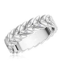 """Обручальное кольцо """"Ветвь"""" с бриллиантами. На заказ"""