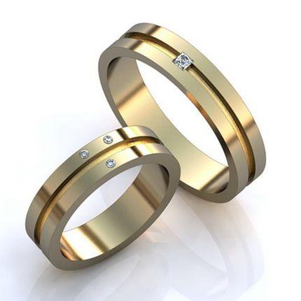 Изысканные обручальные кольца с бриллиантами. На заказ