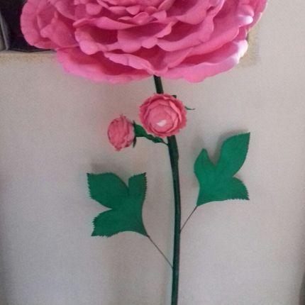 Аренда ростовой цветок Пион