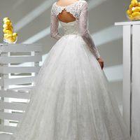 МАДЛЕН Кружевное платье А-силуэта Цвет: Белый, Айвори 17000