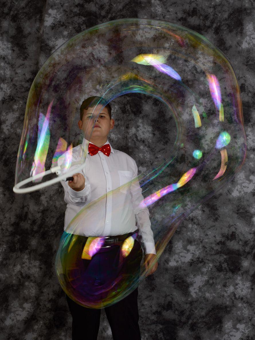 Взрослая шоу-программа с мыльными пузырями