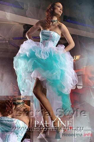 """платье """"Амели- бирюза"""" - фото 11481 Свадебный салон """"Астория стиль"""""""