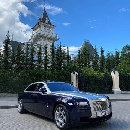 Rolls-Royce Ghost в аренду, 1 час