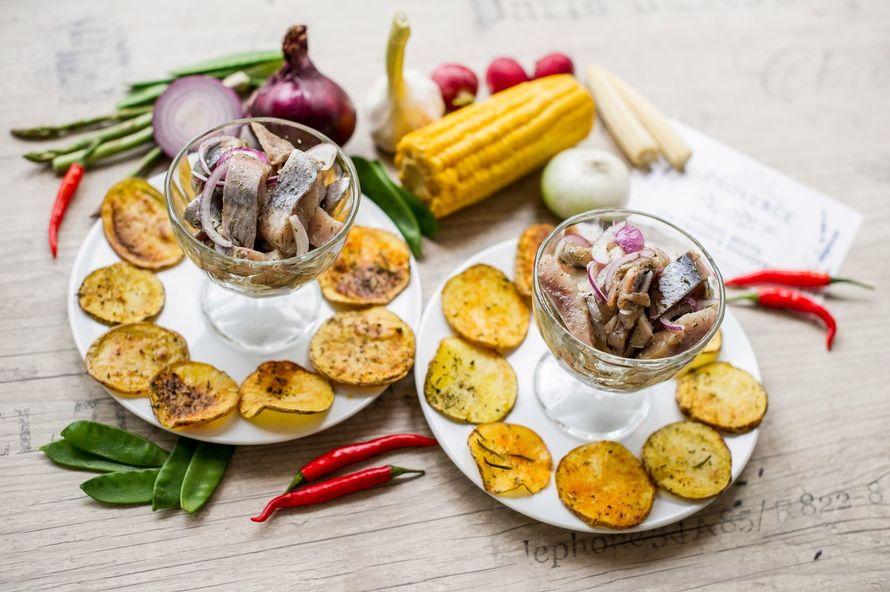 """Селедочка с печеным картофелем - фото 17144578 Банкетный зал """"Provence"""""""