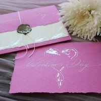 Открытка к Дню Святого Валентина