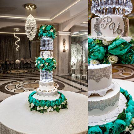 """Свадебный торт """"Изумрудный"""", 10 кг"""
