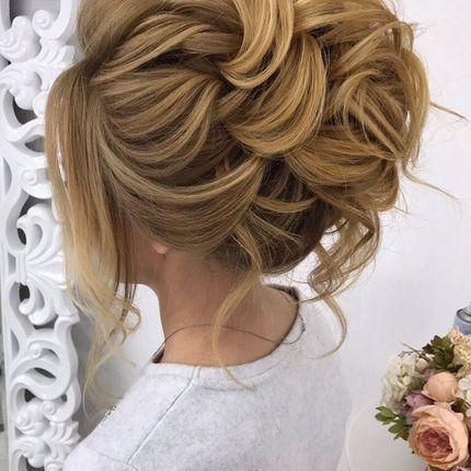 Свадебная - вечерняя причёска