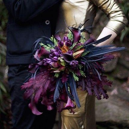 """Свадебный букет """"Цветочный шарм"""""""