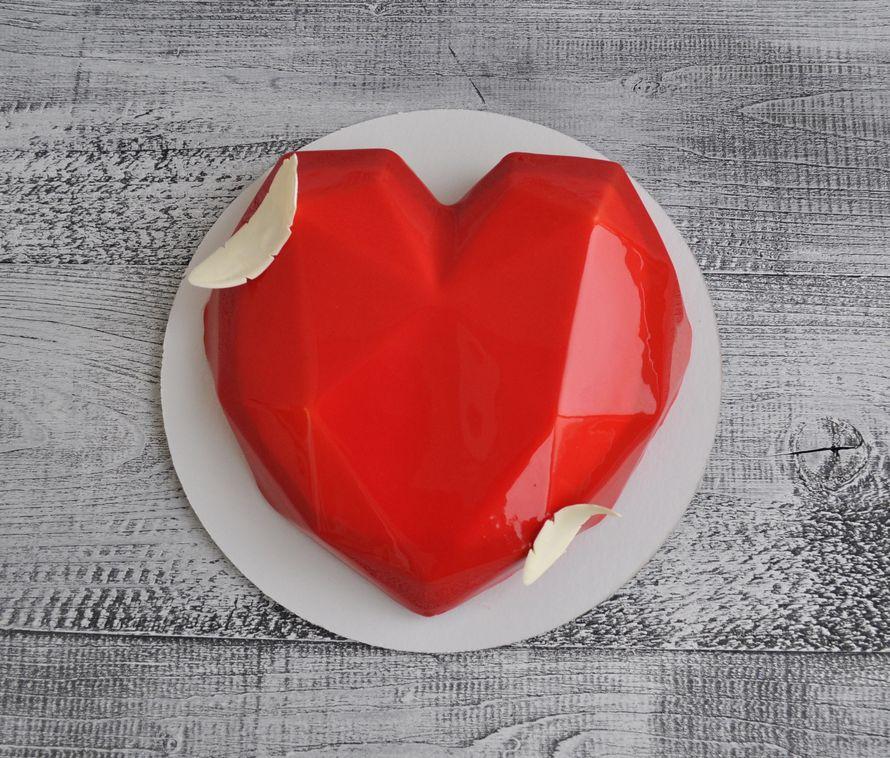 """Муссовый торт """"Сердце"""""""