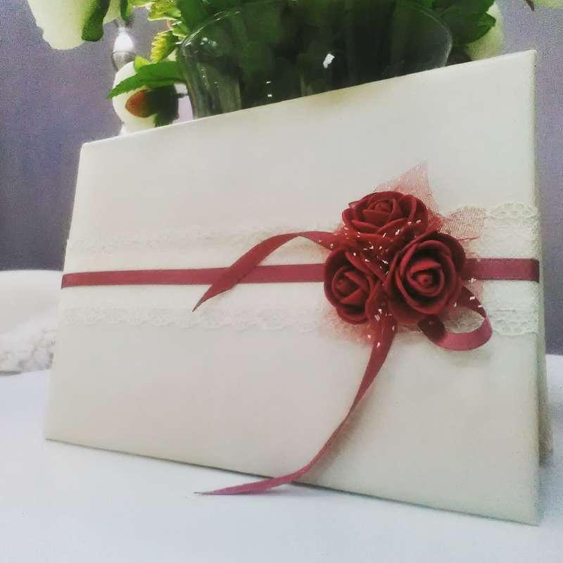 Папка для свидетельства о заключении брака  - фото 16641086 Bestbook - мастерская аксессуаров