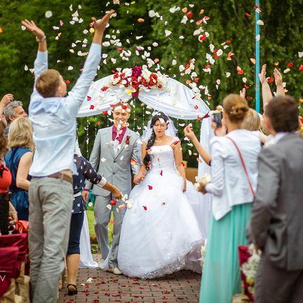 Проведение церемонии регистрации брака