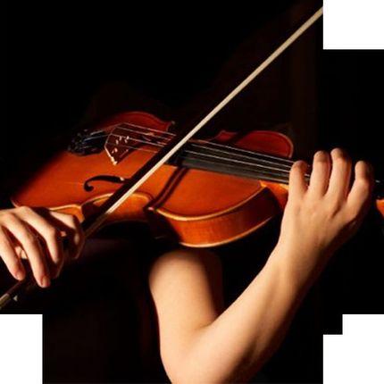 Музыкальное сопровождение - скрипка