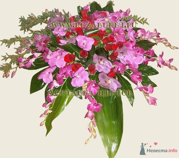 Композиция из орхидей Водопад - фото 46017 Невеста01