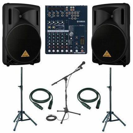Аренда звукового оборудования (DJ)