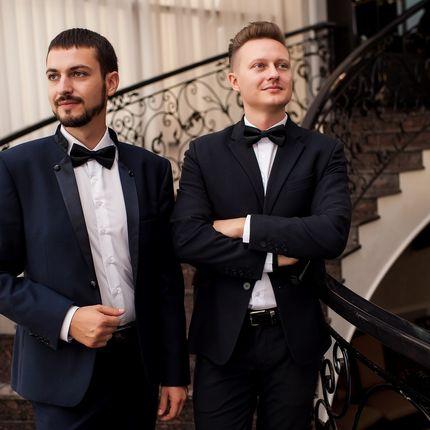 Проведение свадьбы: два ведущих