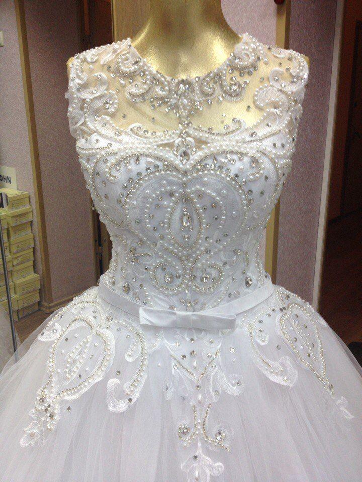 """Пышное свадебное платье в стиле """"Рококо"""""""