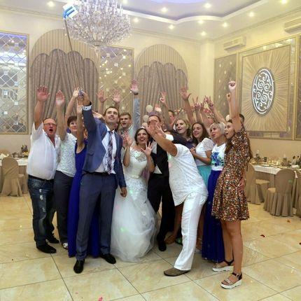 Проведение свадьбы + Dj + свет, лазер, дым