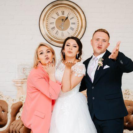Проведение свадьбы+DJ+звук+свет, 5 часов