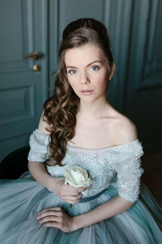 Естественный макияж и прическа на длинные волосы - фото 17600456 Невеста01