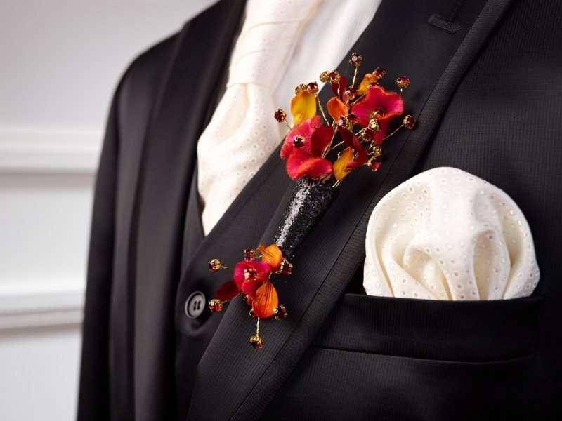 оригинальная бутоньерка жениху - фото 1524305 DY.Art - свадебное оформление