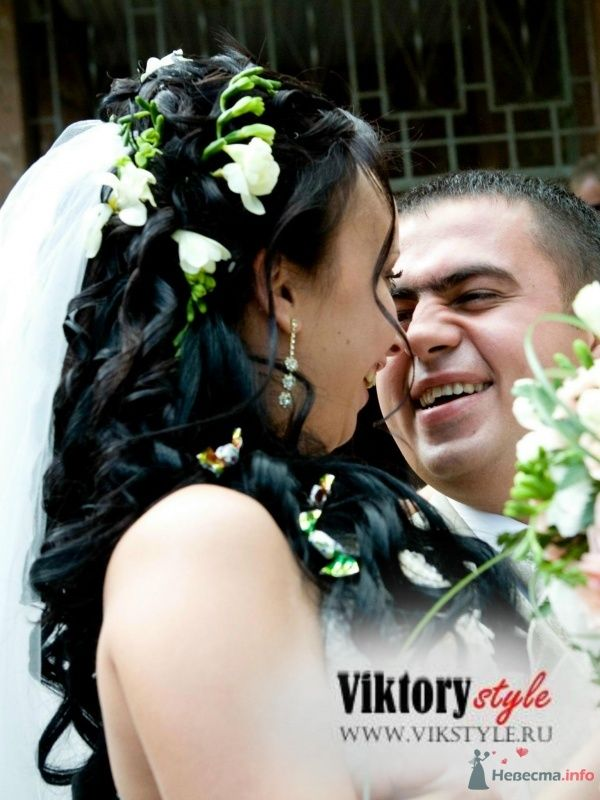 Фото 46187 в коллекции Свадебная прическа - Невеста01
