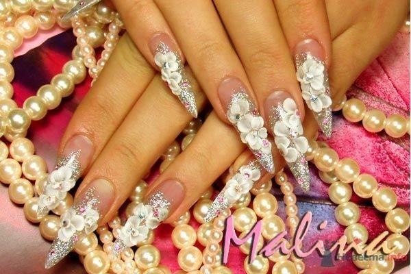 акриловый дизайн - фото 47113 Наращивание ногтей - частный мастер Malina