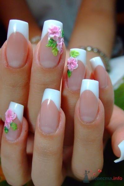 Фото 47116 в коллекции Мои фотографии - Наращивание ногтей - частный мастер Malina