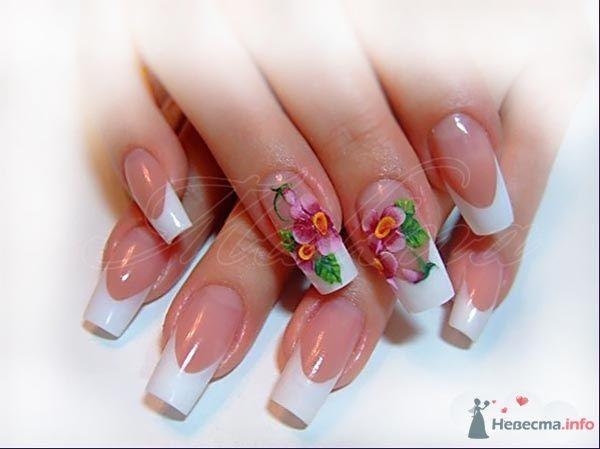 Фото 47117 в коллекции Мои фотографии - Наращивание ногтей - частный мастер Malina