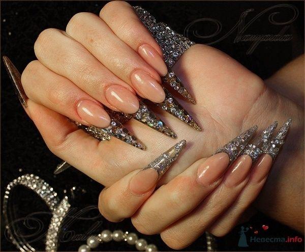 Фото 47122 в коллекции Мои фотографии - Наращивание ногтей - частный мастер Malina