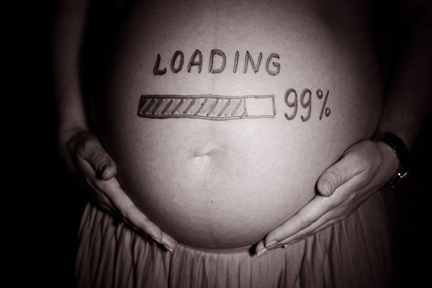 Картинка в ожидании родов прикольные