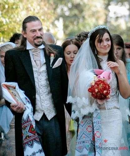 Фото 55928 в коллекции свадебные платья знаменитостей - ВаленТинка:)