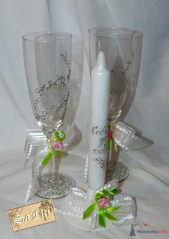 "бокалы ""Невеста"" - фото 47414 Salki"