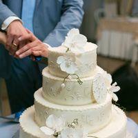 Свадебный торт для Николая и Ксении.