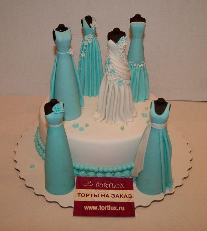 Торт на девичник фото