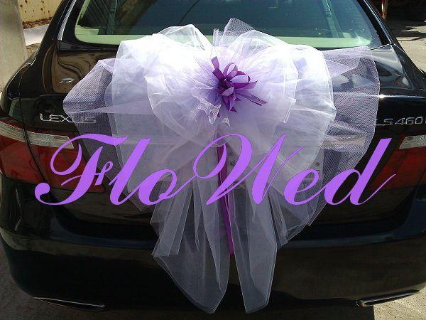 Фото 533464 в коллекции Оформление автомобилей - FloWed - свадебное оформление