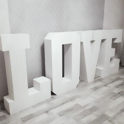 "Фотозона ""LOVE"" в аренду"